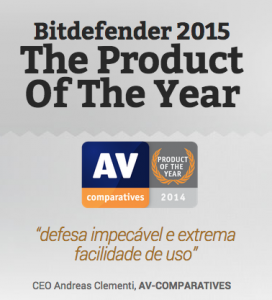 produto do ano bitdefender